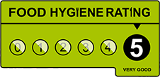 Hygiene Rating 5 At The Hook of Halstead